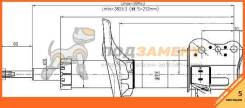 Стойка задняя MAZDA PREMACY/FAMILIA/323 99-05 RH SAT / STB34H28700. Гарантия 5 мес.