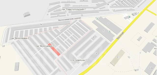 Гаражи кооперативные. шоссе Волочаевское 1, р-н центральный район, 18,0кв.м., электричество, подвал.