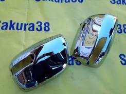 Накладка на зеркало. Toyota Land Cruiser, UZJ200W, J200, URJ202, VDJ200, URJ202W, GRJ200, URJ200, UZJ200 Двигатели: 2UZFE, 3URFE, 1URFE, 1VDFTV, 1GRFE