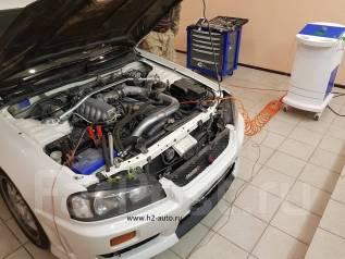"""Очистка двигателей водородом """"Н2"""""""