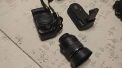 Nikon D5200 Kit. 20 и более Мп, зум: 4х
