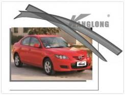 Ветровик на дверь. Mazda Mazda3, BK Двигатели: MZCDY601, MZRL3VE, MZRLF17, MZRZ6, MZRZJVE. Под заказ