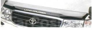 Дефлектор капота. Toyota Land Cruiser, FZJ100, HDJ100, HDJ100L, J100, UZJ100, UZJ100L, UZJ100W