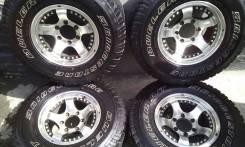 Колеса на летней резине 31 X 10.50R15LT Bridgestone Dueler A/T. 8.0x15 6x139.70 ET10 ЦО 110,0мм.