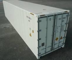 Рефрижераторный контейнер 40 футов. до -25