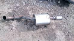 Глушитель. Nissan Primera, WRP12 Двигатель QR25DD