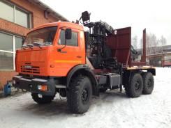 КамАЗ 43118 Сайгак. Лесовоз КамАЗ 43118, 10 850 куб. см., 12 700 кг.