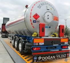 Dogan Yildiz. Газовоз облегчённый 50 м3