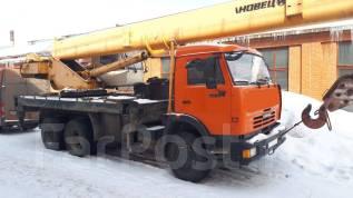 Ивановец КС-45717-1Р. КС 45717-1Р (Ивановец) на шасси Камаз 65115, 10 850 куб. см., 25 000 кг., 30 м.