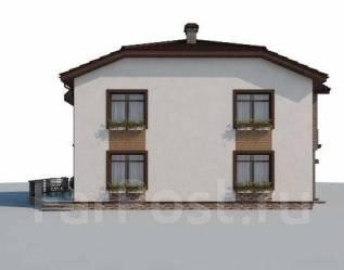 Проект для строительства коттеджа 215м2 с 5 жилыми комнатами