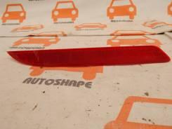 Светоотражающая накладка заднего бампера Hyundai Solaris, правая