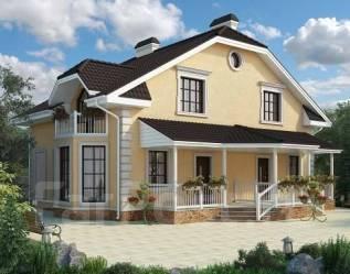 Проект для строительства коттеджа 207м2 с 6 жилыми комнатами