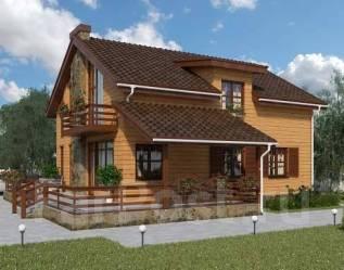 Проект для строительства коттеджа 183м2 с 5 жилыми комнатами