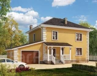Проект для строительства коттеджа 180м2 с 6 жилыми комнатами