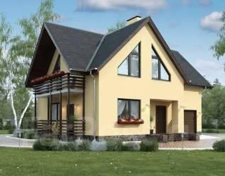 Проект для строительства коттеджа 162м2 с 5 жилыми комнатами