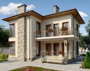 Проект для строительства коттеджа 144м2 с 6 жилыми комнатами