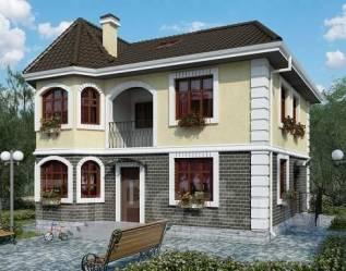 Проект для строительства коттеджа 142м2 с 5 жилыми комнатами