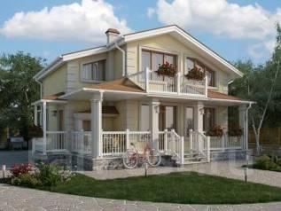 Проект для строительства коттеджа 105м2 с 5 жилыми комнатами