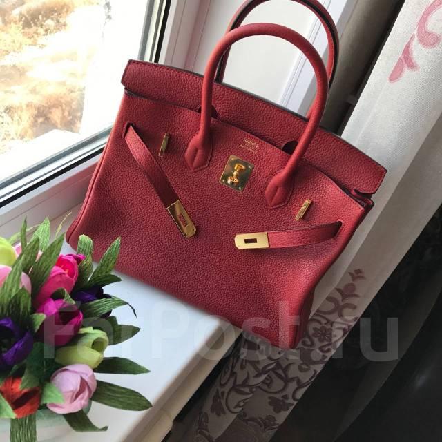 eac862599bae Сумка Hermes Birkin' 30 см в цвете бордо. Наивысшее качество ...