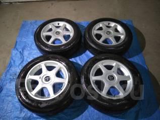 Продам колеса с летней резиной 15/195/65. x15 5x114.30