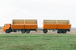 КамАЗ. Продаю самосвальный автопоезд зерновоз Камаз, 11 788куб. см., 17 000кг.