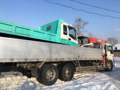 Hino Profia. Бортовой грузовик с манипулятором HINO Profia, 13 000 куб. см., 15 000 кг. Под заказ