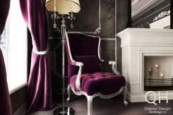 Дизайн интерьеров от Quiet House / Все Чертежи + 3D - 750 р. /м2