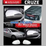 Накладка на зеркало. Daewoo Lacetti, J300 Chevrolet Cruze, J300