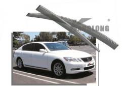 Ветровики оригинальные Lexus GS300 2005 - 2012+ Подарок. Lexus GS300, GRS190 3GRFSE