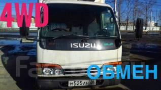 Isuzu Elf. Продаётся грузовик 4WD, 3 100куб. см., 2 000кг.