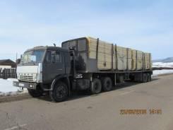 КамАЗ 5410. Продаётся сцепка Камаз 5410 и полуприцеп сортиментовоз 12,5 м., 10 850 куб. см., 25 000 кг.