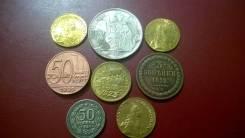 8 монет очень Редкие Пробные выпуски , золото (копии)