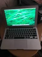 """Apple MacBook Air 11. 11"""", 1,6ГГц, ОЗУ 2048 Мб, диск 64Гб, WiFi, Bluetooth"""