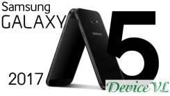 Новый Samsung Galaxy A5 2017 Black. Сделан для Российского рынка. Новый, 32 Гб, Черный, 3G, 4G LTE, Dual-SIM, Защищенный