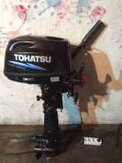 Tohatsu. 5,00л.с., 4-тактный, бензиновый, нога S (381 мм), 2008 год год