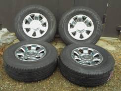 Продаю комплект летних колес 265/70/16 на дисках 16(6*139.7)