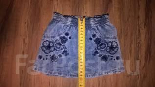 Юбки джинсовые. Рост: 68-74, 74-80 см