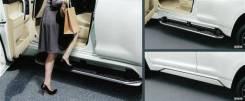 Порог пластиковый. Toyota Land Cruiser Prado, GDJ150, GDJ150L, GDJ150W, GRJ150, GRJ150L, GRJ150W, KDJ150, KDJ150L, LJ150, TRJ150, TRJ150W. Под заказ