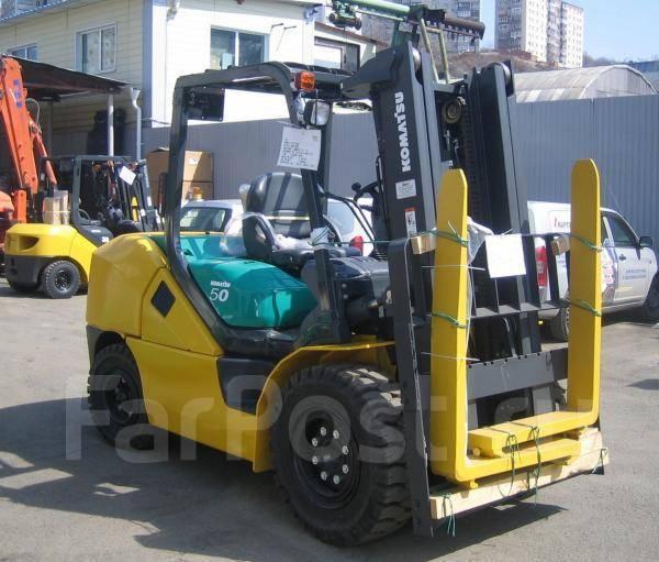 Komatsu FD50AYT-10. Новый 5 тонный погрузчик Komatsu, в рассрочку за 116 667 в месяц, 5 000кг., Дизельный
