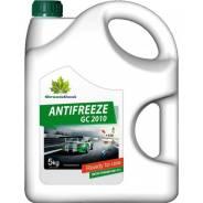 Антифриз GreenCool зеленый готовый -40°C 5 кг