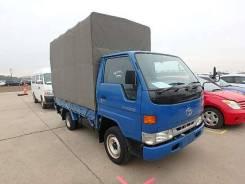 Toyota Dyna. Бортовой с тентом, 2 000куб. см., 1 500кг. Под заказ