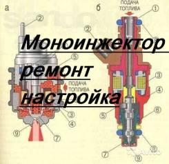 Диагностика, настройка моноинжектора, моноинжектор