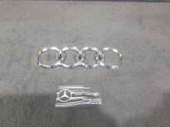 Эмблема багажника. Audi A8, D3/4E Audi S Двигатель BFM