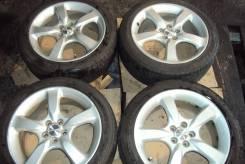 "Комплект шины +диски Subaru 5х100 215/45 R17 Dunlop Made in Japan. 7.0x17"" 5x100.00 ET55 ЦО 55,0мм."