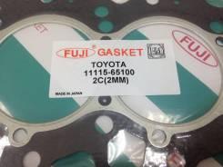 Прокладка головки блока цилиндров 2C FUJI Paranit 11115-64060, 11115-65100 2 mm Toyota