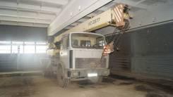 Ивановец КС-3577. Кран автомобильный КС 3577 на базе МАЗ, 10 850 куб. см., 14 000 кг., 14 м.
