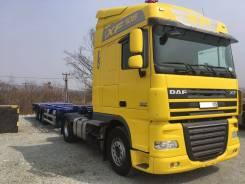 DAF XF 105. Продам седельный тягач 460 во Владивостоке, 12 900 куб. см., 20 000 кг.