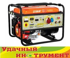 Генератор бензиновый SKAT УГСБ-4500Т/220 трехфазный сварочный, 5 кВт. Под заказ