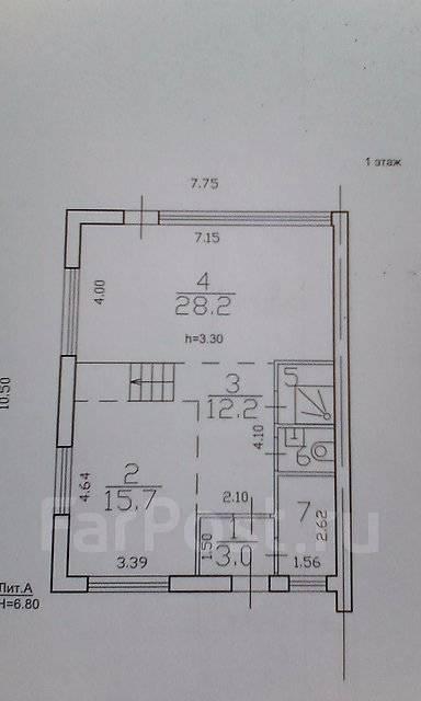 Продаётся таунхаус возле моря. Переулок Географический 4, р-н Седанка, площадь дома 220кв.м., централизованный водопровод, электричество 15 кВт, ото...