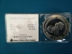Новая Зеландия 1 доллар 1989 г во Владивостоке